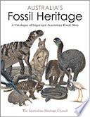 Australia s Fossil Heritage