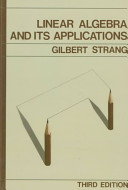 Linear Algebra and Its Applications Book