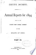 Executive Documents, Annual Reports
