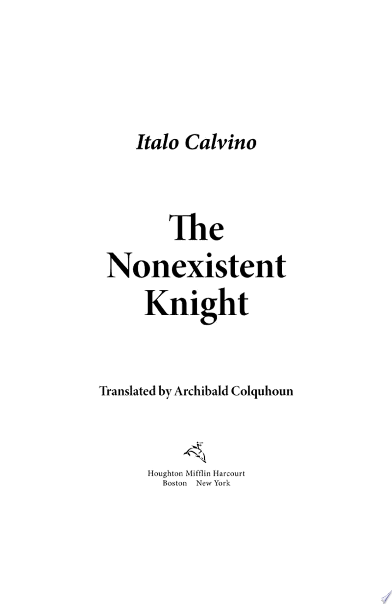 The Nonexistent Knight image