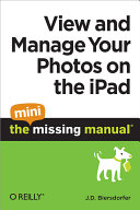 View and Manage Your Photos on the iPad  The Mini Missing Manual