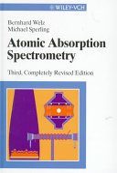 Atomic Absorption Spectrometry Book PDF