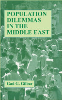Pdf Population Dilemmas in the Middle East Telecharger
