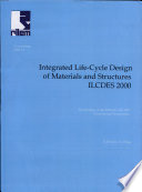 PRO 14: International RILEM/CIB/ISO Symposium on Integrated Life Cycle Design of Materials and Structures (ILCDES 2000)
