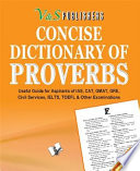 CONCISE DICTIONARY OF PROVERBS  POCKET SIZE  Book PDF