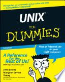 List of Unix Dummies E-book