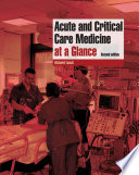 Acute And Critical Care Medicine At A Glance Book PDF
