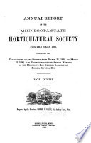 The Minnesota Horticulturist Book