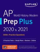 AP World History Modern Prep Plus 2020   2021
