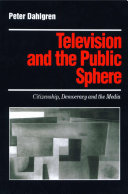 Pdf Television and the Public Sphere Telecharger