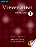 Viewpoint Level 1 Workbook Book PDF