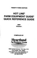 Hot Line Farm Equipment Guide Quick Reference Guide