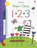 Wipe Clean 123 Book Book