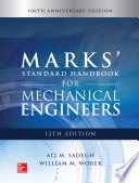 Marks Standard Handbook For Mechanical Engineers 12th Edition Book PDF