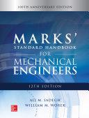 Marks' Standard Handbook for Mechanical Engineers, 12th Edition Pdf/ePub eBook