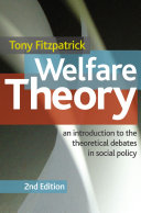 Welfare Theory Pdf/ePub eBook