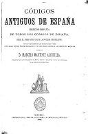 Códigos antiguos de España
