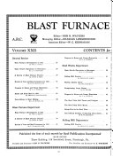 Blast Furnace and Steel Plant