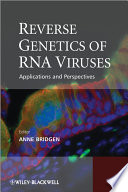 Reverse Genetics of RNA Viruses Book