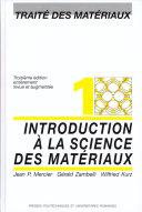 Introduction à la science des matériaux