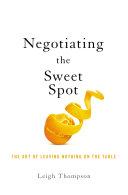 Pdf Negotiating the Sweet Spot