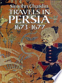 Travels In Persia 1673 1677