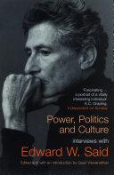 Power, Politics, and Culture