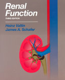 Renal Function Book