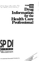 USP DI  B  Drug information for the health care professional