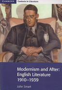 Books - Modernism And After: English Literature 1910�1939 | ISBN 9780521711562