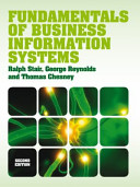 Fundamentals of Business Information Systems