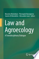 Law and Agroecology Book