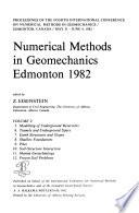 Numerical Methods in Geomechanics