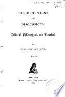 Dissertations and Discussions