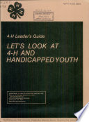 Let's Look at 4-H and Handicapped Youth