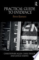 Practical Guide to Evidence Book