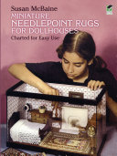Miniature Needlepoint Rugs for Dollhouses