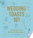 Wedding Toasts 101 Book