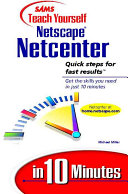 Sams Teach Yourself Netscape Netcenter in 10 Minutes