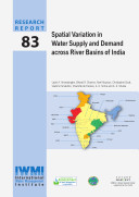 Spatial Variation in Water Supply and Demand Across River Basins of India