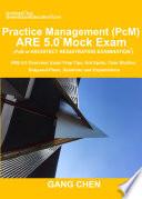 Practice Management  PcM  ARE 5 0 Mock Exam  Architect Registration Examination