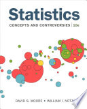 Statistics: Concepts and Controversies & Saplingplus for Statistics: Concepts and Controversies (Single-Term Access) [With EBook]