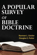 A Popular Survey of Bible Doctrine