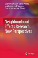 Neighbourhood Effects Research: New Perspectives Pdf/ePub eBook