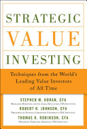 Pdf Strategic Value Investing: Practical Techniques of Leading Value Investors Telecharger