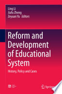 Reform and Development of Educational System Book