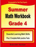 Summer Math Workbook Grade 4