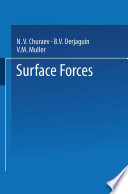 Surface Forces
