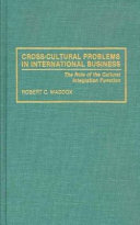 Cross-cultural Problems in International Business