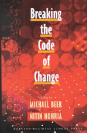 Breaking the Code of Change Book Cover